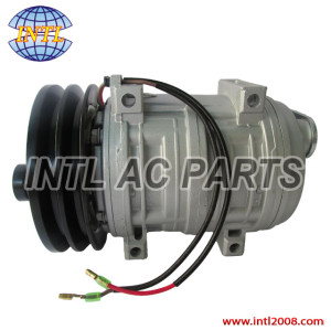 auto air conditioning ac compressor assembly for shuttle bus tractors agriculture SELTEC/TAMA/VALEO/DIESEL KIKI - TM-21 TM21HD 2pk 103-57240 10357240 488-47240 48847240 12v/24v