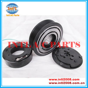 auto air conditioning ac compressor magnetic clutch pulley for sanden 7H15 709 SD7H15 SD709 6PK