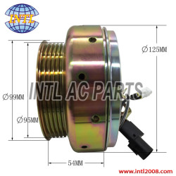 MSC90C ac compressor clutch assembly FOR Mitsubishi Carisma Lancer Mirage AKC200A203B AKC200A203C