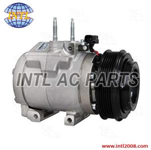 Ac Compressor Four Seasons 98324 New Halla HCC-RS20 for ford F-250 F-350 F-450 F-550  Compressor 6PK 120MM