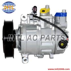 Denso 6SEU14C Auto Ac Compressor Audi A5 A6 A4 A6 Quattro Allroad Q5 4F0260805AF