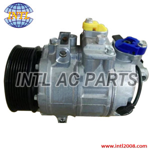 Denso 7SEU17C Car AC Compressor For BMW X5 2010-2016 8PK 110mm