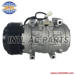 Denso 10P15/10P15C auto air conditioner ac compressor 6415 John Deere 7500 Tractor RC.600.140