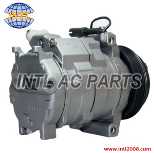 Denso 10S17C A/C air conditioner compressor for Jeep Grand Cherokee WJ WG 2.7CRD 3.7 447180-4620 447220-4840 55116839AA DCP06021