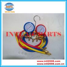 R134a 134a R22 R12 R410a auto air conditioner manifold gauge set
