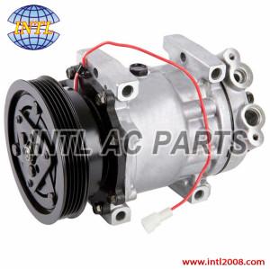Four Seasons 67575 Auto air compressor SD709-5PK-120mm fits for Mazda 626 (02-98) Sanden: 4375, 4689 GD7E61450 471-7007
