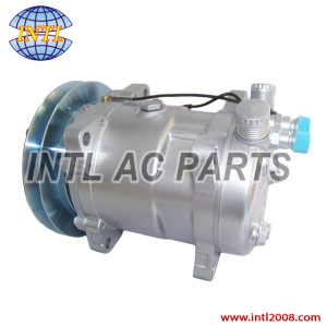 Sanden SD 508 5H14 auto ac compressor 1 grooves pulley for Universal use