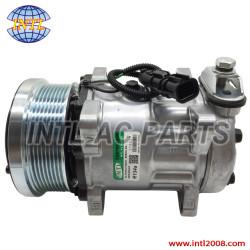 block howo A7 Ac Compressor Sanden 7H15 24V