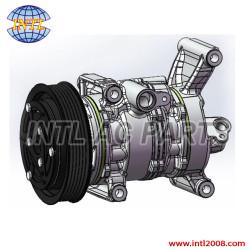 10S13C  Auto compressor Mazda 2 1.3 Mazda2 demio metro 1.3 1.5 2007-2012