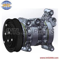 10S13C air conditioning compressor Mazda 3 1.3 1.6 2003-2009 BP4K61K00