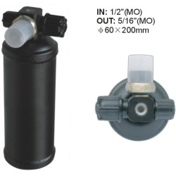 a/c receiver Dryer Accumulator Receiver Drier 60X200MM IN: 1/2
