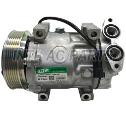 SD7V16 Car air compressor for Ford Fiesta Focus II C-Max MPV Mazda 3 Volvo C30 S40 V40 V50 V70 1306784 BP8F61450B 1306784