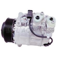 Car ac compressor Mercedes Benz GL450 GL550 3.0L 4.6L V8 09S00476 447250-0262 DENSO 7SES17C