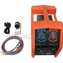 INTL-RR001 Portable refrigerant recovery (recoverying) machine/ refrigerant recycling machine/ recuperador de refrigerante for R12 R22 134a