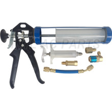 SpotGun System Kit / spotgun injector system 1/2 SAE and 1/4 SAE hoses with anti-blowback valves