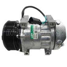 SD7H15 Auto Ac Compressor For JCB SD7H158202 SD7H158302 32008563