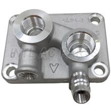 10PA Auto Ac Compressor rear head for JOHN DEERE RE69715 RE51052 RE69715