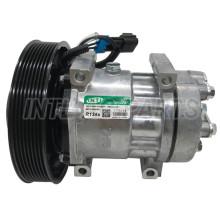 Sanden 7H15 7S15 709 SD709 SD7H15 auto ac compressor for Mack/Volvo/GM Trucks