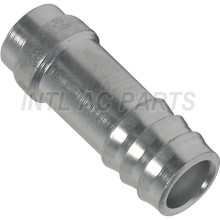 A/C Refrigerant Hose Fitting through tube pipe aluminum End  Barb 3 Inner Weld-On  EX 5296C FT 0004C #12