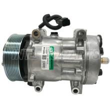 SD7H15 Auto Ac Compressor FOR Caterpillar Bagger 416E 420E Sanden 4021 2992212