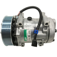 SD7H15 Auto Ac Compressor For Kenworth-Piterbilt F69-1014 Sanden 4006, 4164