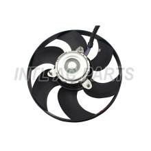 CAR AUTO AC CONDENSER Electronic fan FOR VOLKSWAGEN Jetta 1GD959455B 1GD959455D