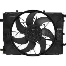 AUTO AC CONDENSER Electronic fan for Mercedes-Benz C180 E200 GLK250 SLK200 2045000293 A2049066802 05062026