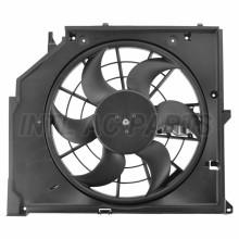 CAR AUTO AC CONDENSER Electronic fan for BMW 3 (E46) 17117525508 17117561757