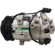 New Auto AC Compressor for HYUNDAI VERNA 1.4T 6PK 119MM 12V good quality one year warranty