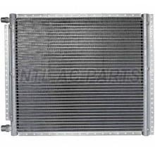 INTL-UCD031 Condenser A/C CN 16X18(18MM CORE DEPTH)4 RAILS UNPAINTED