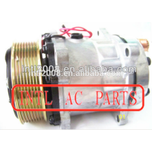Preço de fábrica um/c compressor sd7h13 706 8ga sanden ac auto compressor bomba