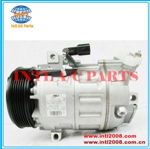 Dcs171c compressor ac 6pk- 127mm, ar condicionado 92600ze80a 92600ze80b 92600ze81a 92600ze81b 67662 68662 para nissan sentra