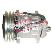 R134 24v auto compressor da ca w/embreagem sanden 4611 4489 86983967 1999760c2 caso para combinar