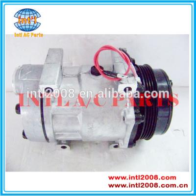 Ac auto compressor sd7h15 8148 6021 para caso- novo- holland trator 87709785/87802912