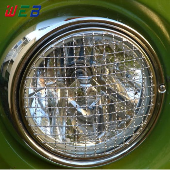 7 inch Round Headlight Grill Stone Guard In Stock