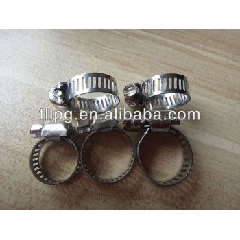 stainless seel hose clamp for gas pipe