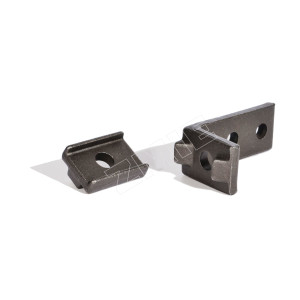 Counter plate for X348 and X458 forged rivetless chain
