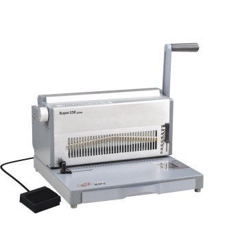 2:1 11 inch electrical double wire binding machine(SUPER23E PLUS)