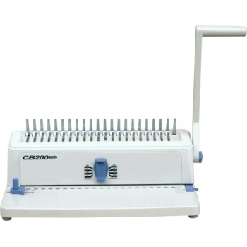 Office Type Manual Plastic Comb Binding Machine(CB200 PLUS)