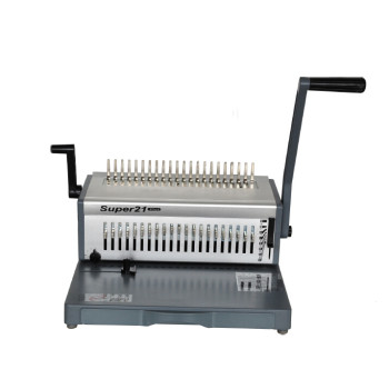 Office aluminum comb binding machine (SUPER21 PLUS)