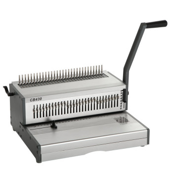 A3 manual comb binding machine