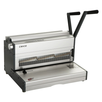 A3 Size Manual Double wire binding machine CW430