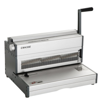 A3 Size Electric Double wire binding machine CW430E