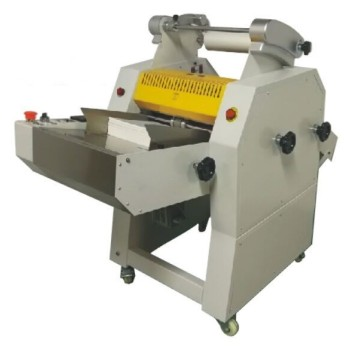 Automatic paper feeder and cut roller laminator