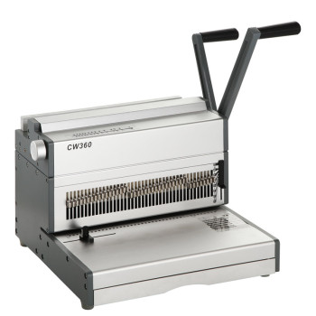 A4 Size Manual  Double Wire Binding Machine CW360