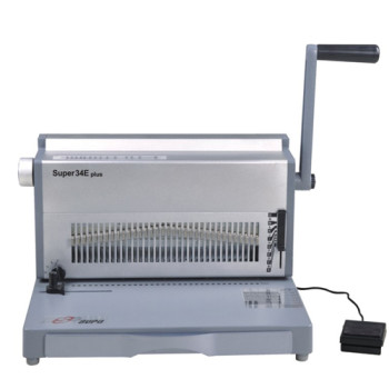 8.47mm pitch Electric  Wire Binding Machine SUPER34E plus