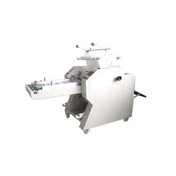 Semi-Automatic film roll laminating machine with automatic overlap & Pneumatic cutting PL-500YA
