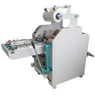 480mm Hydraulic  laminator with auto overlap & pneumatic cutting systems HL-500YA