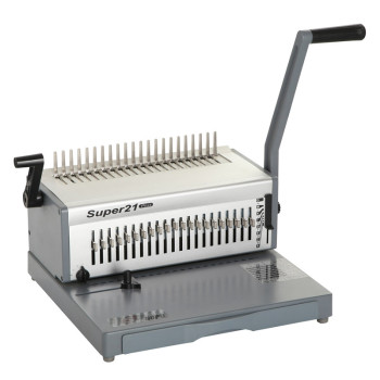 Office Aluminum Comb Binding Machine  SUPER21 plus