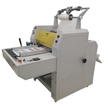 Heavy duty Oil conduction hydraulic laminator with automatic cutter HL-520YA